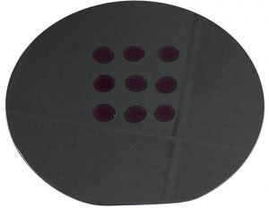 Silicon wafer surface after plasma cleaning