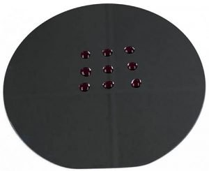 Silicon wafer surface before plasma cleaning